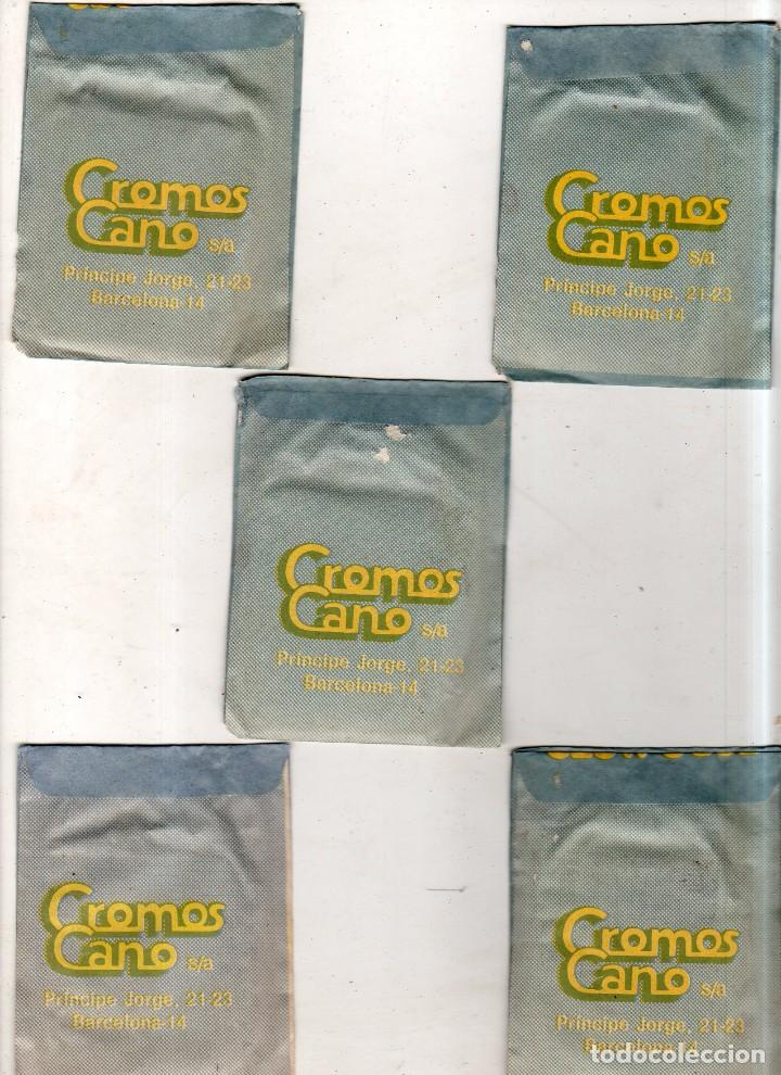 Coleccionismo deportivo: LOTE DE 5 SOBRES DE CROMOS CERRADOS. TODO MOTO. CROMOS CANO. VER FOTOS. - Foto 3 - 171015118