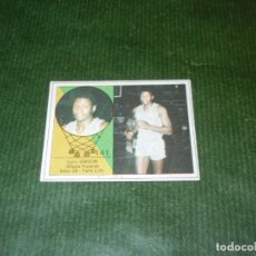 Coleccionismo deportivo: CROMO DE BALONCESTO (YOGUR LETONA) NUM.141 LARRY GIBSON. (MAGIA HUESCA) - CROMO SIN USO. Lote 174009103