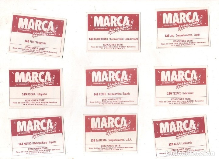 Coleccionismo deportivo: CROMOS MARCAMANIA. LOTE DE 79 CROMOS. ED. ESTE. DIFERENTES. NUEVOS SIN PEGAR. VER FOTOS. - Foto 11 - 174564163
