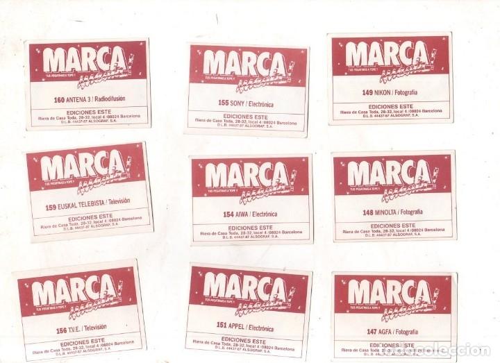 Coleccionismo deportivo: CROMOS MARCAMANIA. LOTE DE 79 CROMOS. ED. ESTE. DIFERENTES. NUEVOS SIN PEGAR. VER FOTOS. - Foto 13 - 174564163
