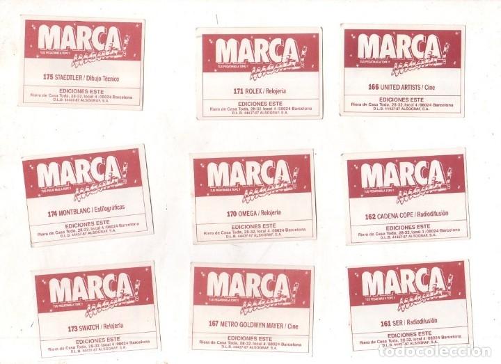 Coleccionismo deportivo: CROMOS MARCAMANIA. LOTE DE 79 CROMOS. ED. ESTE. DIFERENTES. NUEVOS SIN PEGAR. VER FOTOS. - Foto 15 - 174564163