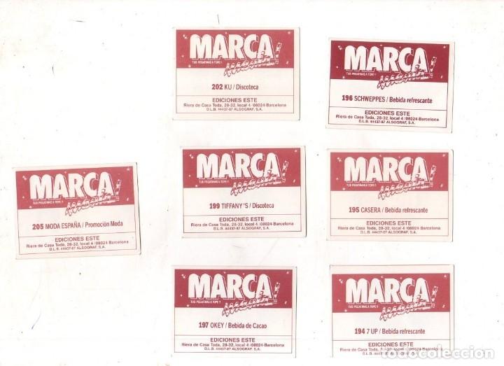 Coleccionismo deportivo: CROMOS MARCAMANIA. LOTE DE 79 CROMOS. ED. ESTE. DIFERENTES. NUEVOS SIN PEGAR. VER FOTOS. - Foto 19 - 174564163