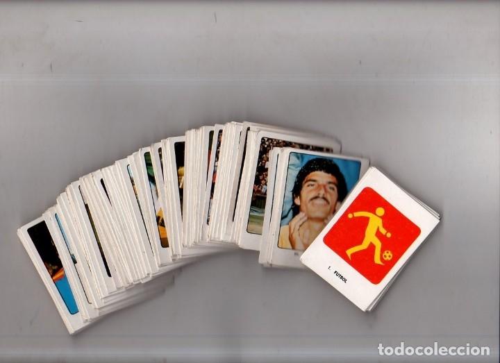 CAMPEONES DEL DEPORTE MUNDIAL 1974. LOTE DE 119 CROMOS.EDITORIAL KEISA. NUNCA PEGADOS.DIFERENTES.VER (Coleccionismo Deportivo - Cromos otros Deportes)