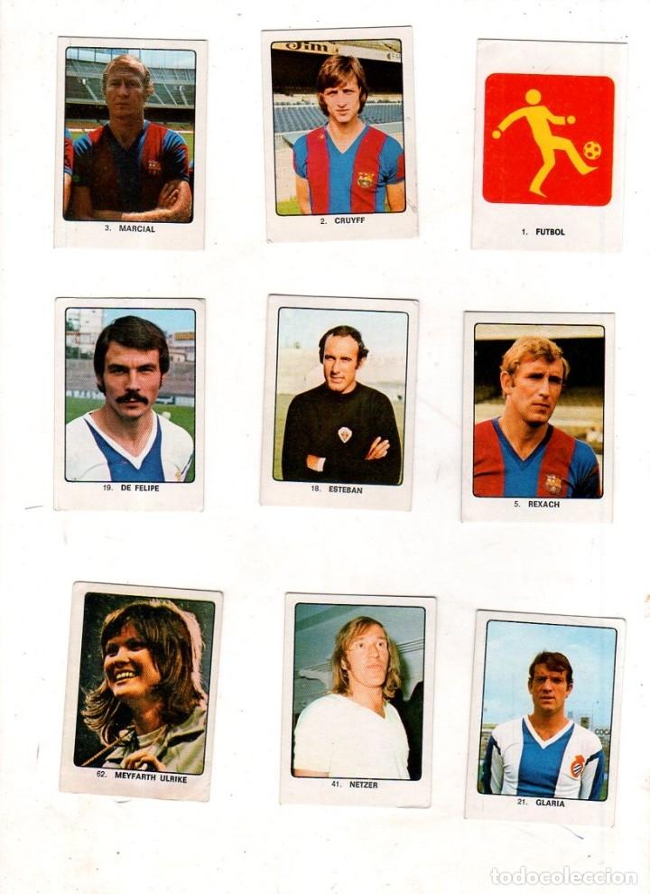 Coleccionismo deportivo: CAMPEONES DEL DEPORTE MUNDIAL 1974. LOTE DE 119 CROMOS.EDITORIAL KEISA. NUNCA PEGADOS.DIFERENTES.VER - Foto 2 - 174570483