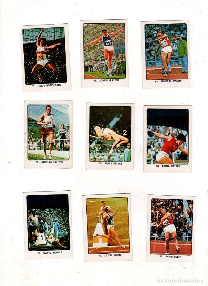 Coleccionismo deportivo: CAMPEONES DEL DEPORTE MUNDIAL 1974. LOTE DE 119 CROMOS.EDITORIAL KEISA. NUNCA PEGADOS.DIFERENTES.VER - Foto 4 - 174570483