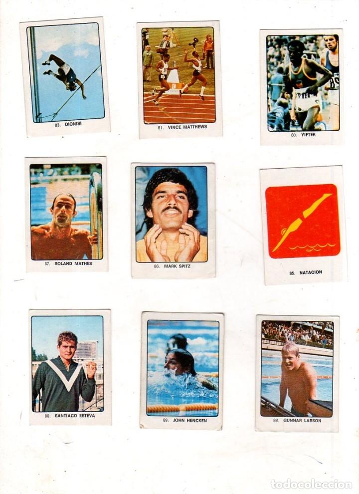 Coleccionismo deportivo: CAMPEONES DEL DEPORTE MUNDIAL 1974. LOTE DE 119 CROMOS.EDITORIAL KEISA. NUNCA PEGADOS.DIFERENTES.VER - Foto 5 - 174570483