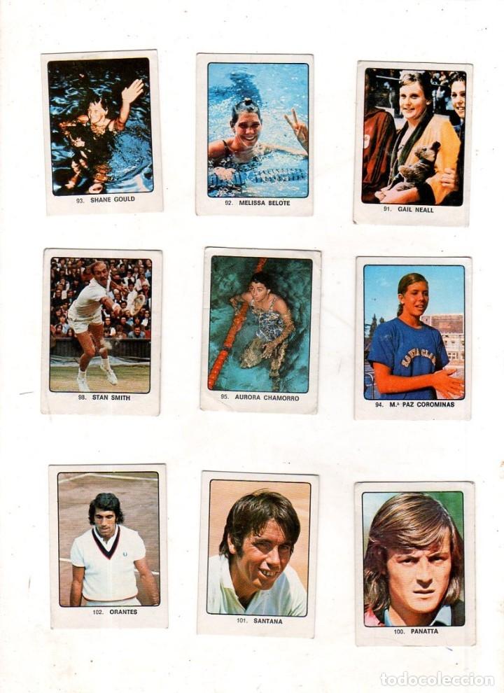 Coleccionismo deportivo: CAMPEONES DEL DEPORTE MUNDIAL 1974. LOTE DE 119 CROMOS.EDITORIAL KEISA. NUNCA PEGADOS.DIFERENTES.VER - Foto 6 - 174570483