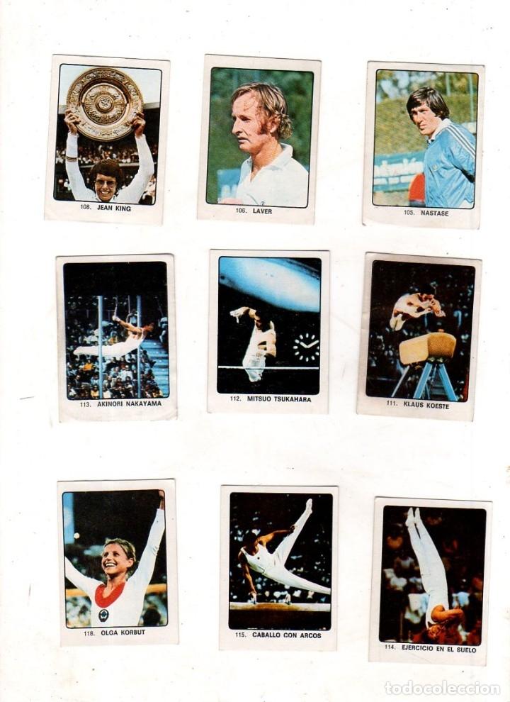 Coleccionismo deportivo: CAMPEONES DEL DEPORTE MUNDIAL 1974. LOTE DE 119 CROMOS.EDITORIAL KEISA. NUNCA PEGADOS.DIFERENTES.VER - Foto 7 - 174570483