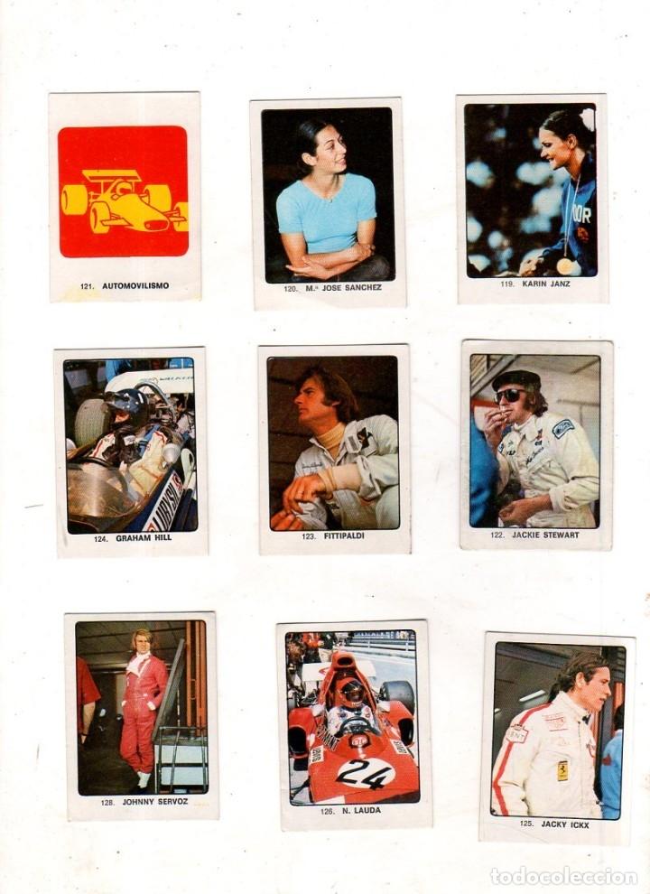 Coleccionismo deportivo: CAMPEONES DEL DEPORTE MUNDIAL 1974. LOTE DE 119 CROMOS.EDITORIAL KEISA. NUNCA PEGADOS.DIFERENTES.VER - Foto 8 - 174570483