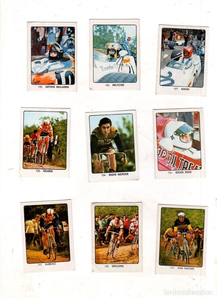 Coleccionismo deportivo: CAMPEONES DEL DEPORTE MUNDIAL 1974. LOTE DE 119 CROMOS.EDITORIAL KEISA. NUNCA PEGADOS.DIFERENTES.VER - Foto 9 - 174570483