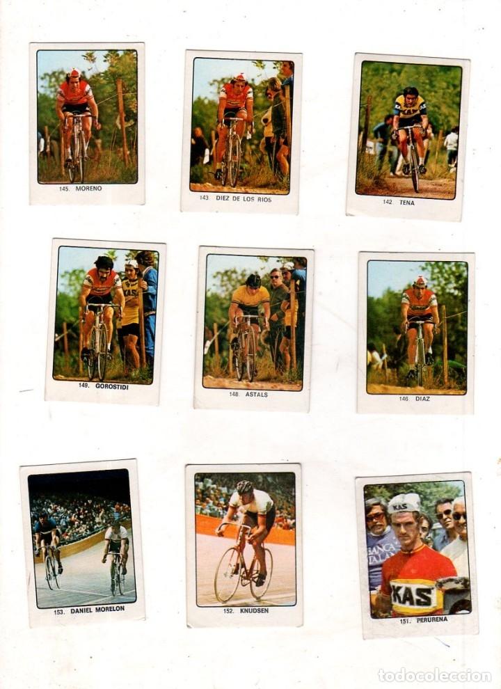 Coleccionismo deportivo: CAMPEONES DEL DEPORTE MUNDIAL 1974. LOTE DE 119 CROMOS.EDITORIAL KEISA. NUNCA PEGADOS.DIFERENTES.VER - Foto 10 - 174570483