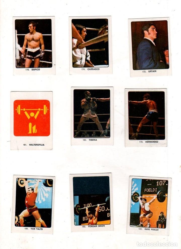 Coleccionismo deportivo: CAMPEONES DEL DEPORTE MUNDIAL 1974. LOTE DE 119 CROMOS.EDITORIAL KEISA. NUNCA PEGADOS.DIFERENTES.VER - Foto 12 - 174570483