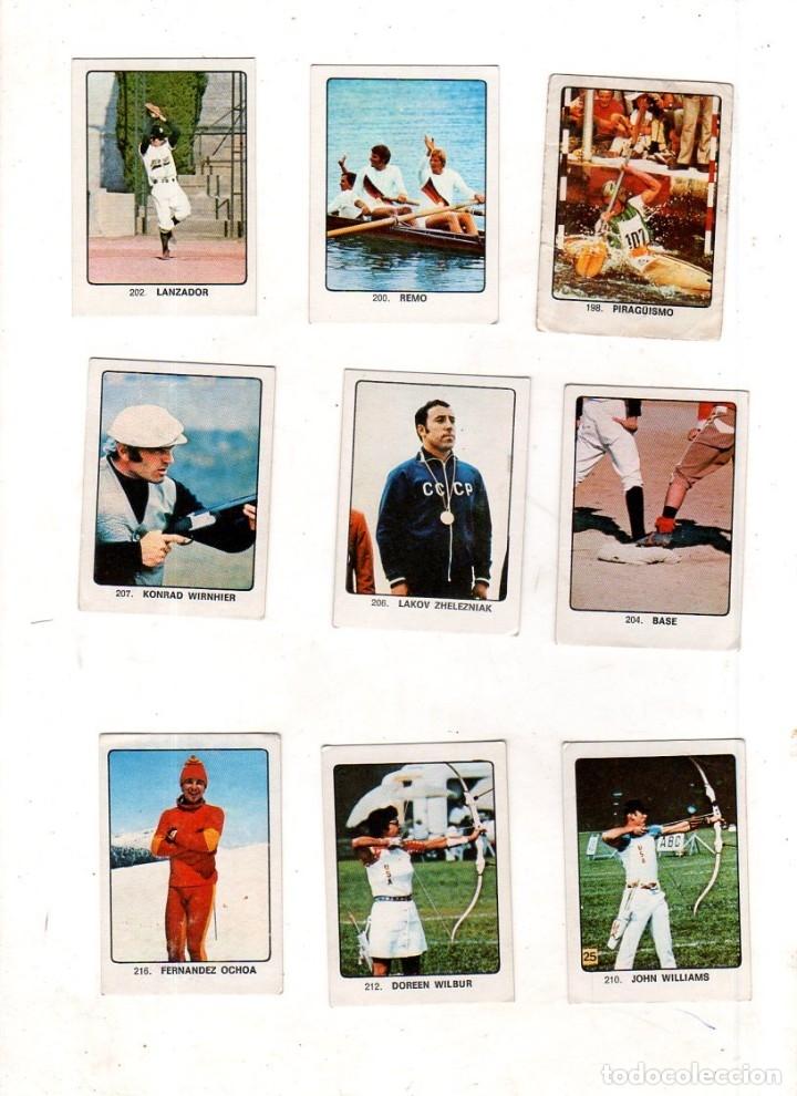 Coleccionismo deportivo: CAMPEONES DEL DEPORTE MUNDIAL 1974. LOTE DE 119 CROMOS.EDITORIAL KEISA. NUNCA PEGADOS.DIFERENTES.VER - Foto 14 - 174570483