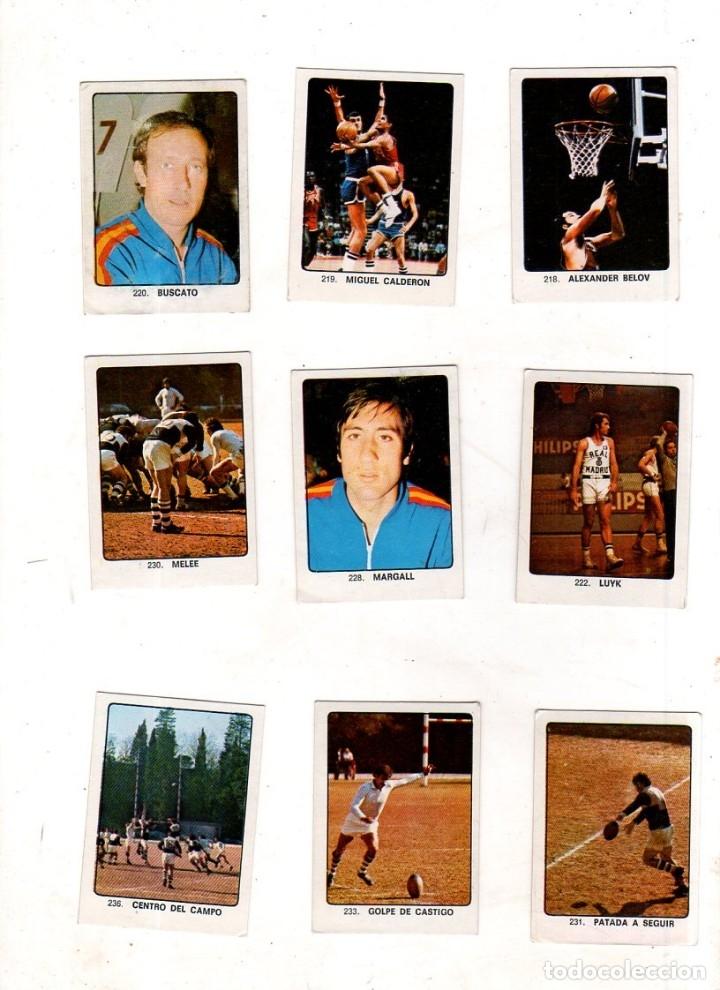 Coleccionismo deportivo: CAMPEONES DEL DEPORTE MUNDIAL 1974. LOTE DE 119 CROMOS.EDITORIAL KEISA. NUNCA PEGADOS.DIFERENTES.VER - Foto 15 - 174570483