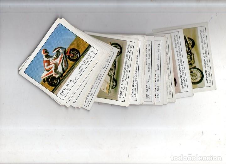 CROMOS MOTOS. LOTE DE 30 CROMOS. EDICIONES UNIDAS. 1987. DIFERENTES. NUNCA PEGADOS. VER FOTOS. (Coleccionismo Deportivo - Cromos otros Deportes)