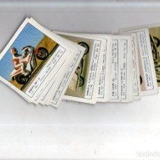 Coleccionismo deportivo: CROMOS MOTOS. LOTE DE 30 CROMOS. EDICIONES UNIDAS. 1987. DIFERENTES. NUNCA PEGADOS. VER FOTOS.. Lote 175018577