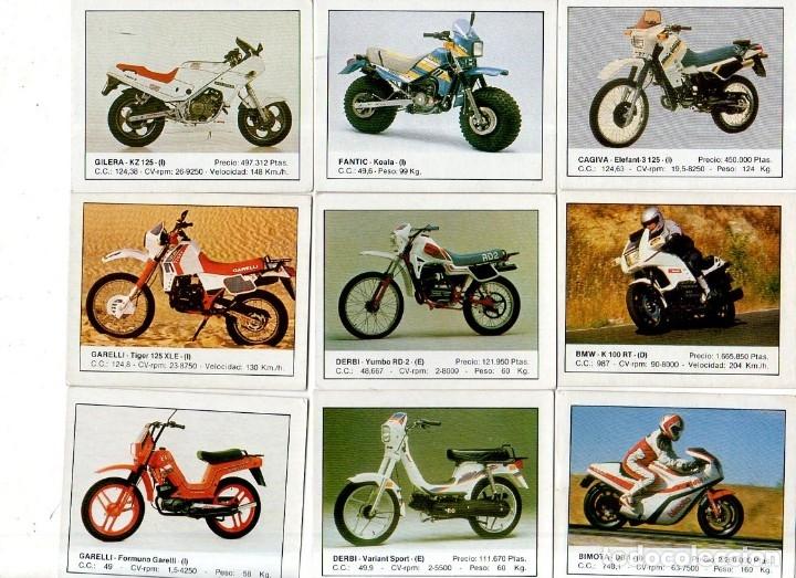 Coleccionismo deportivo: CROMOS MOTOS. LOTE DE 30 CROMOS. EDICIONES UNIDAS. 1987. DIFERENTES. NUNCA PEGADOS. VER FOTOS. - Foto 2 - 175018577