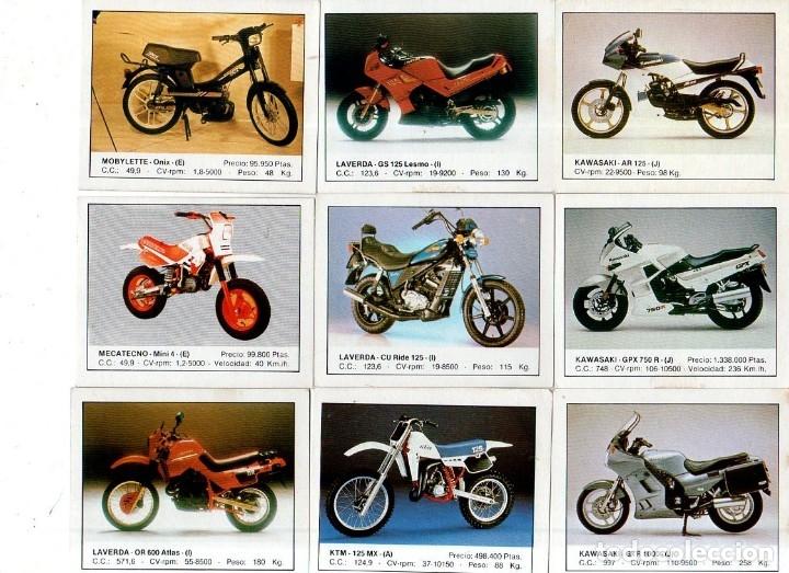 Coleccionismo deportivo: CROMOS MOTOS. LOTE DE 30 CROMOS. EDICIONES UNIDAS. 1987. DIFERENTES. NUNCA PEGADOS. VER FOTOS. - Foto 6 - 175018577
