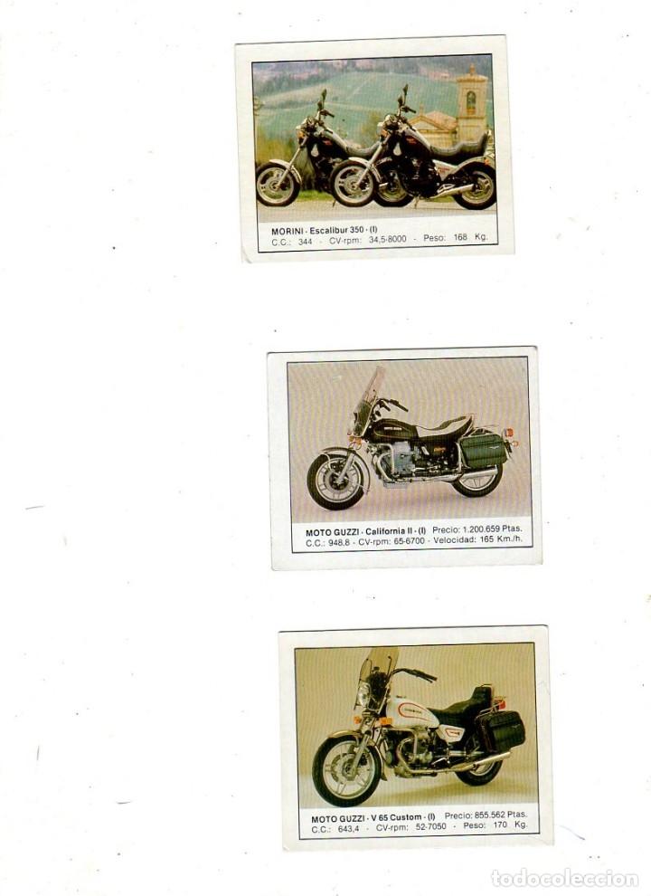 Coleccionismo deportivo: CROMOS MOTOS. LOTE DE 30 CROMOS. EDICIONES UNIDAS. 1987. DIFERENTES. NUNCA PEGADOS. VER FOTOS. - Foto 8 - 175018577