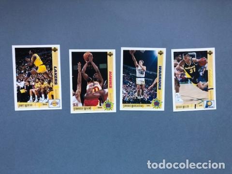 LOTE CARDS NBA UPPER DECK 1992 (Coleccionismo Deportivo - Cromos otros Deportes)