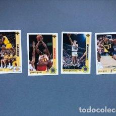 Coleccionismo deportivo: LOTE CARDS NBA UPPER DECK 1992. Lote 175357745
