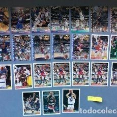 Coleccionismo deportivo: LOTE CARDS NBA UPPER DECK 1993. Lote 175358667