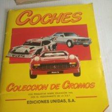 Coleccionismo deportivo: COCHES ÁLBUM. Lote 175438078