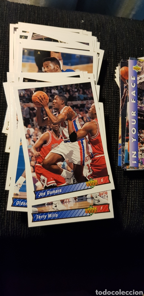 Coleccionismo deportivo: Lote 118 NBA cards Upper Deck 1993 - Foto 2 - 175548494