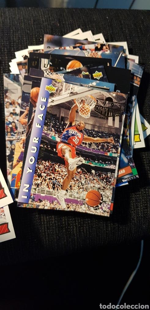 Coleccionismo deportivo: Lote 118 NBA cards Upper Deck 1993 - Foto 3 - 175548494