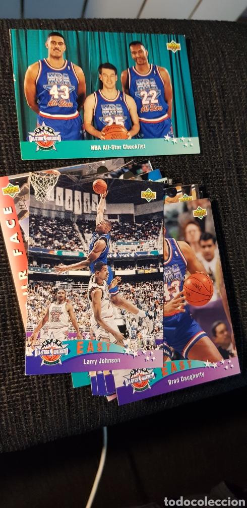 Coleccionismo deportivo: Lote 118 NBA cards Upper Deck 1993 - Foto 4 - 175548494