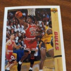 Coleccionismo deportivo: MICHAEL JORDAN 44 NBA UPPER DECK 1991-92 VERSIÓN USA CHICAGO BULLS. Lote 175625370