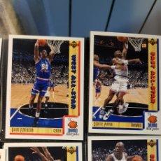 Coleccionismo deportivo: LOTE 24 CARDS NBA UPPER DECK 1992. Lote 175631024