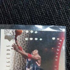Coleccionismo deportivo: CARD NBA UPPER DECK 2000/01 LEGENDS #4. Lote 175929629