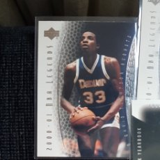 Coleccionismo deportivo: LOTE 7 CARDS NBA UPPER DECK LEGENDS 2000/01. Lote 175930608