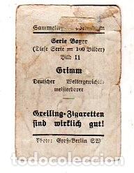Coleccionismo deportivo: COLECCIONISMO DEPORTIVO BOXEO. CROMO RICHARD GREILING. GRIMM. VER FOTOS. - Foto 2 - 176336250