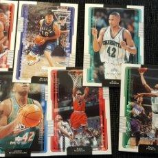 Coleccionismo deportivo: LOTE 21 CARDS NBA UPPER DECK MVP 2001. Lote 176454698