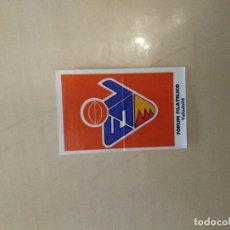 Coleccionismo deportivo: BOLLYCAO BASKET 71 ESCUDO FORUM VALLADOLID. Lote 176960989