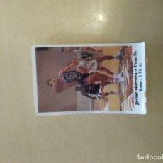 Coleccionismo deportivo: BOLLYCAO BASKET 138 JAVIER HERRERA. Lote 176962074