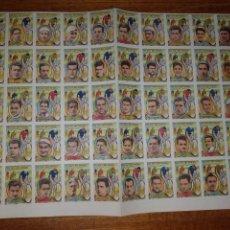 Coleccionismo deportivo: PLANCHA 50 CROMOS CROMO DEL ALBUM ASES DEL PEDAL . CICLISMO . MASIP VIDAURRIETA. Lote 177368642