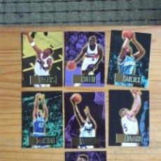 Coleccionismo deportivo: BALONCESTO 7 CROMOS NBA DE LOS AÑOS 90. Lote 177507170