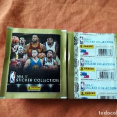 Coleccionismo deportivo: PANINI NBA 2016-17 50X SOBRES CROMOS NBA BASKETBALL 16-17. Lote 195347086
