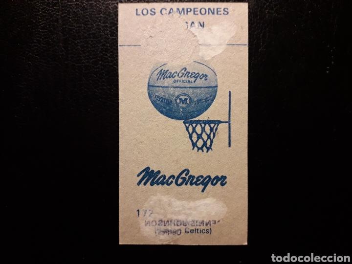 Coleccionismo deportivo: DENNIS JOHNSON. NBA. N° 177. J MERCHANTE. LIGA BALONCESTO 1986-1987. 86 87. DESPEGADO. VER FOTOS - Foto 2 - 177678403