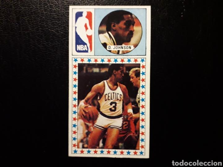DENNIS JOHNSON. NBA. N° 177. J MERCHANTE. LIGA BALONCESTO 1986-1987. 86 87. DESPEGADO. VER FOTOS (Coleccionismo Deportivo - Cromos otros Deportes)