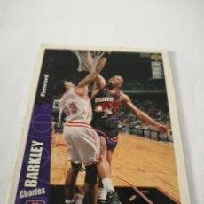 Coleccionismo deportivo: CHARLES BARKLEY NBA UPPER DECK COLLECTOR'S CHOICE #126 PHOENIX SUNS NBA 1996. Lote 177776830