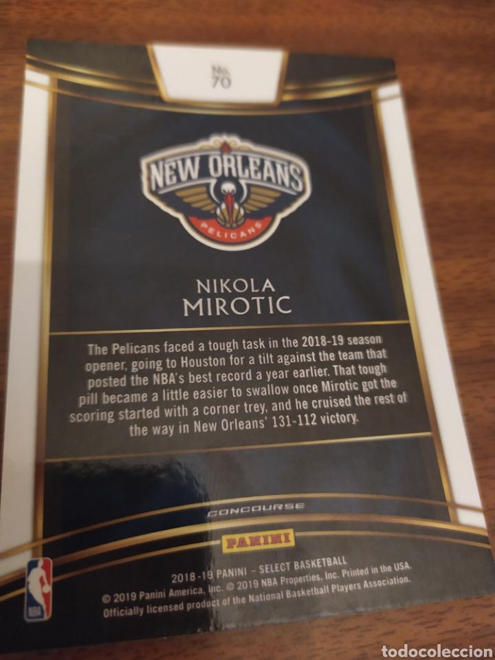 Nikola Mirotic 70 Nba Panini Select 2018 19 New Sold