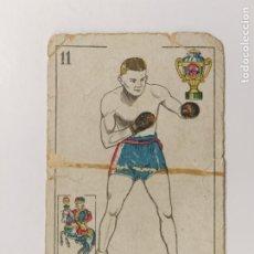 Coleccionismo deportivo: CROMO DE BOXEO-PLADNER-CHOCOLATE AMATLLER-VER REVERSO-(V-17.745). Lote 178978970