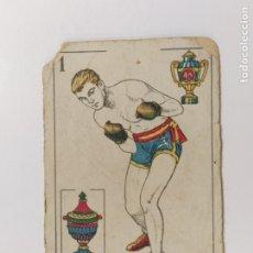 Coleccionismo deportivo: CROMO DE BOXEO-MARTINEZ-CHOCOLATE AMATLLER-VER REVERSO-(V-17.746). Lote 178978998