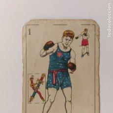 Coleccionismo deportivo: CROMO DE BOXEO-TUNNEY-CHOCOLATE AMATLLER-VER REVERSO-(V-17.748). Lote 178979048