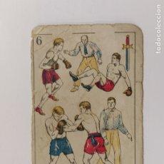 Coleccionismo deportivo: CROMO DE BOXEO-KNOCK DOWN-CHOCOLATE AMATLLER-VER REVERSO-(V-17.749). Lote 178979230