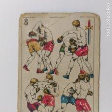 Coleccionismo deportivo: CROMO DE BOXEO-CROCHET-CHOCOLATE AMATLLER-VER REVERSO-(V-17.751). Lote 178979303